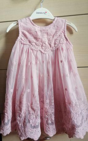 Платье фирменное mamas&papas 6 - 9 мес. Нарядное, праздничное, пышное.