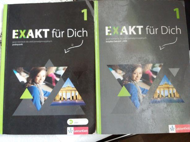 Exakt fur Dich 1, DVD podręcznik i ćwiczenia