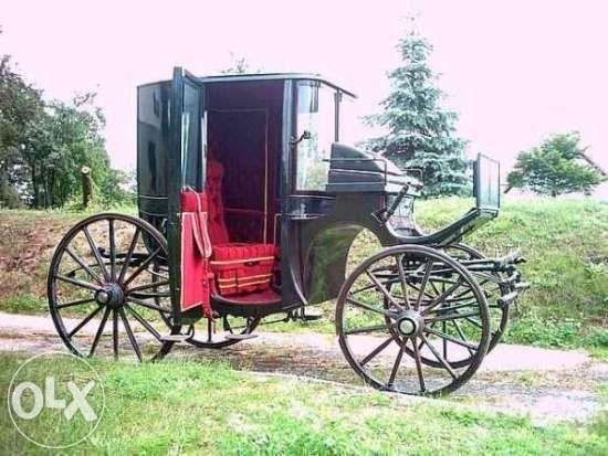 Bryczka konna Kareta Coupe RHUE 1897r. OKAZJA