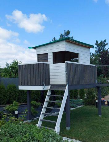 OKAZJA Domek drewniany dla dzieci