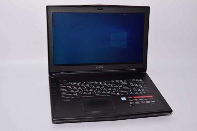 Ноутбук MSI GT72 6QE i7/32Gb/240SSD+240SSD/GTX980 #13099