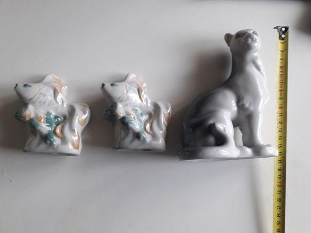 Figurki z porcelany sygnowane