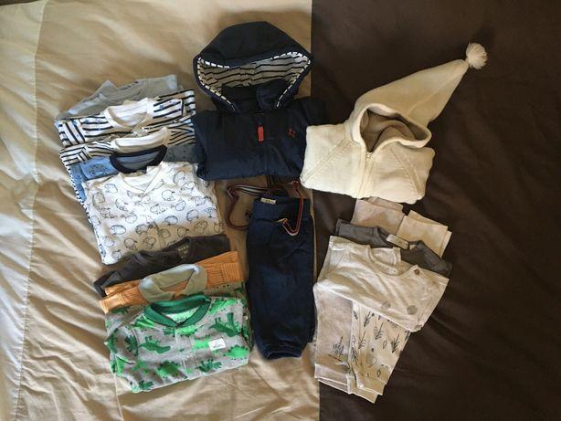 Lote roupa menino 1-3m (62cm)