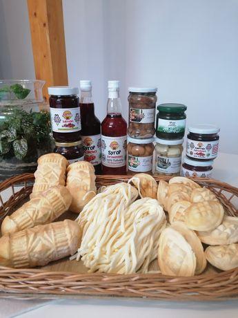 Swojskie góralskie sery,serki, produkty mleczne oraz konfitury