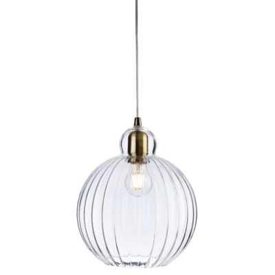 Lampa sufitowa szklana