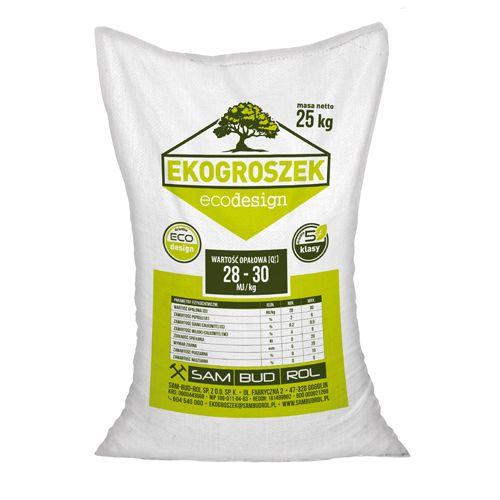 Ekogroszek Ecodesign worki 25 kg (KRA)
