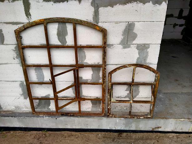 Okna żeliwne