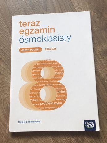 Teraz egzamin ósmoklasisty język polski arkusze nowa era