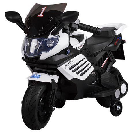 Мотоцикл електро Bambi М 3582E-1 Белый для детей 1+