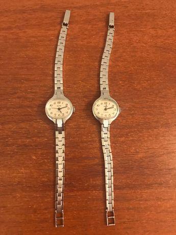 Часы с браслетом рабочие 2 штуки