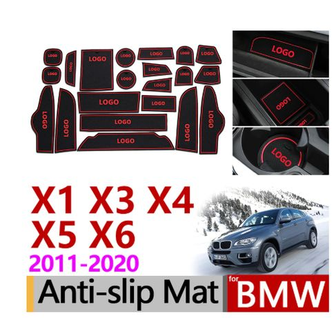 Противоскользящие резиновые коврик для BMW X1 F48, X3 F25, X4 F26, Х5