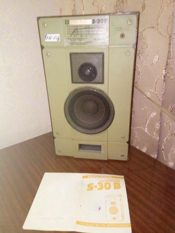 Две акустические системы Радиотехника СССР S-30
