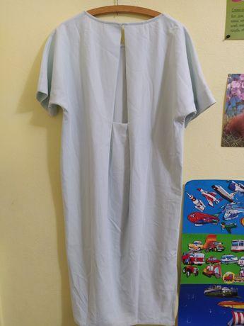 Нежно голубое платье с интересной спинкой 2NDDAY, 38 размер