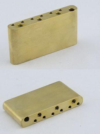 ## Mosiężny blok tremolo / vibrato do Fender Squier PRS ESP ##