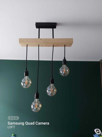 Żyrandol lampa loft industrial