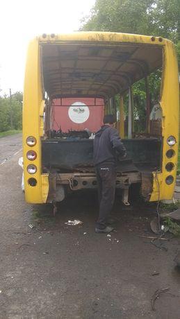 Рама автобуса китаєць