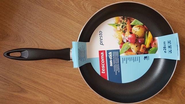Tescoma patelnia presto 28cm wok jak Tefal