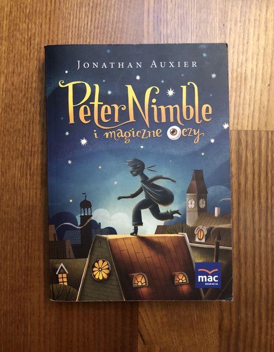 """Książka """"Peter Nimble i magiczne oczy"""" - Jonathan Auxier Wyszków - image 1"""