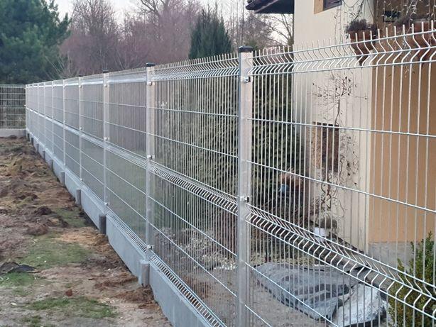 Kompletne ogrodzenie panelowe !! 1,8m wys. ! 60zł mb!