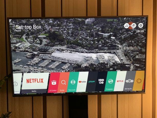 Telewizor Smart tv LG 55 cali 4K Hdr + pilot magic