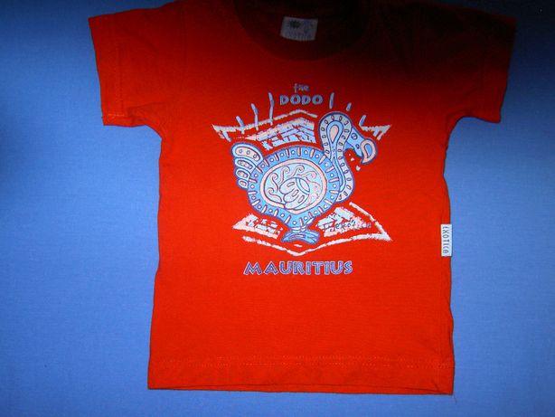 Bluzka, bluzeczka, koszulka z krótkim rękawem dla chłopca 2 lata