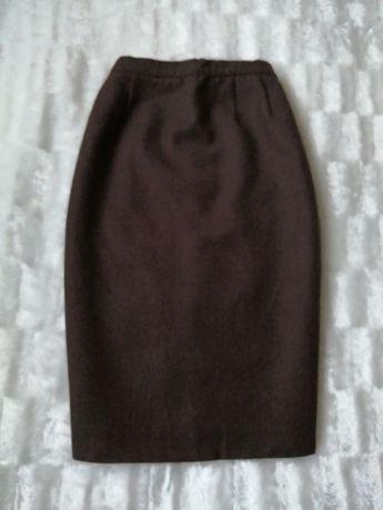 Шерстяная юбка карандаш Luisa Spagnoli, шерстяна спідниця