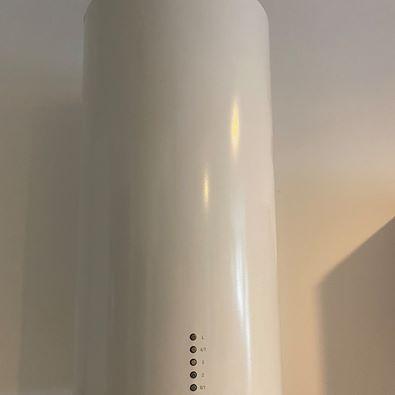 Okap Berg Floyd przyścienny Tuba