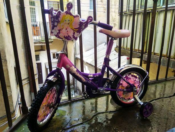 Велосипед дитячий Принцеса