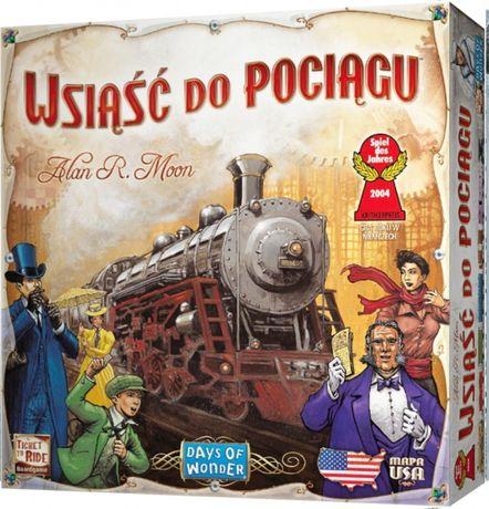 Wsiąść do Pociągu: USA, gra planszowa [NOWA]