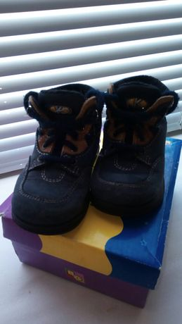Ботинки на мальчика кожа
