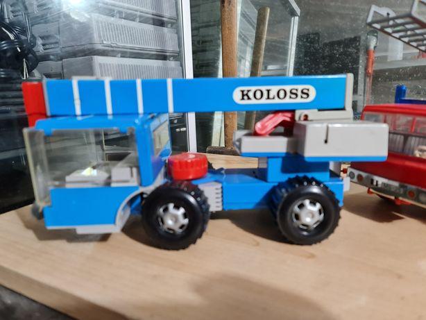 Stare zabawki Prl fiat 127 KOLOSS straż pożarna goffy mercedes Puch
