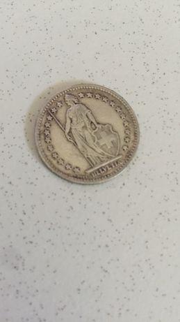 Moeda 1 Fr. De 1931 - moeda colecção linda para coleccionadores