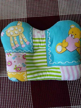 Подушка ортопедическая ТРИВЕС для новорожденных НОВАЯ