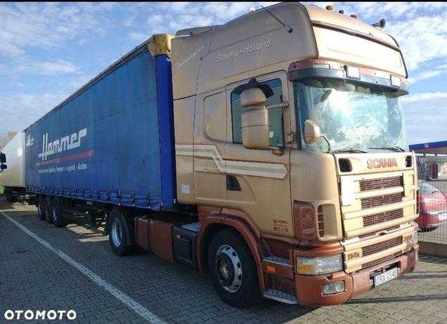 Scania 114 380 TOPLINE_MANUAL_RETARDER_LODÓWKA
