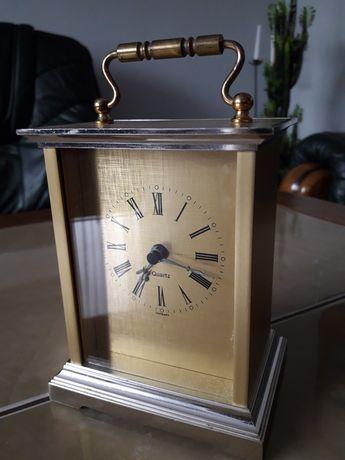 Zegar metalowy kareciak W. Germany