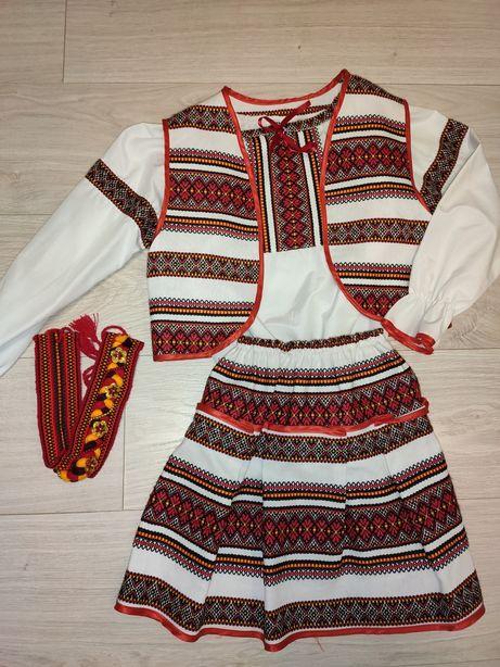 Украинский костюм на девочку 7-10 лет