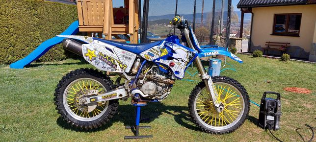 Yamaha wr 450f  2004