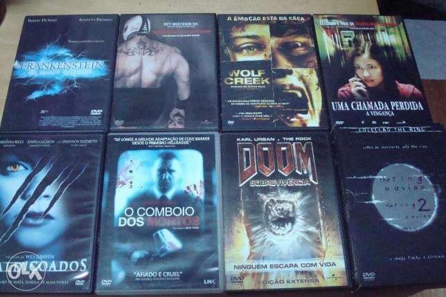 30 filmes terror originais alguns mais raros ver lista Bougado (São Martinho E Santiago) - imagem 1