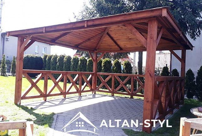 Altany, altanki, wiaty, altanka ogrodowa MARTA 3x3m PRODUCENT
