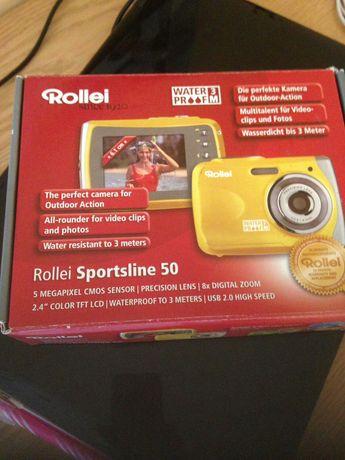 Фотоаппарат rollei sportsline 50, новый, в коробке