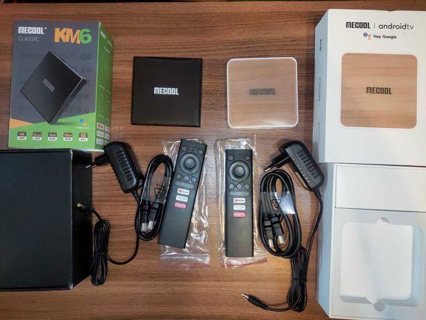 ТВ приставка Mecool KM6 Android Smart TV Box настроена