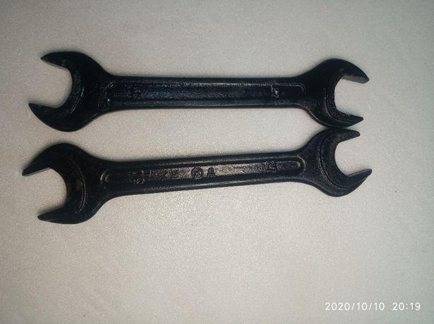 Ключ рожковый (гаечный) 27-30