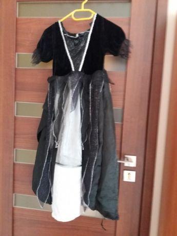 sukienka halloween 8-9lat