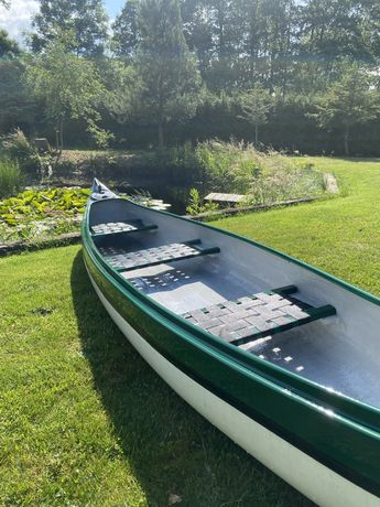 Kajak typu kanu trzyosobowy canoe