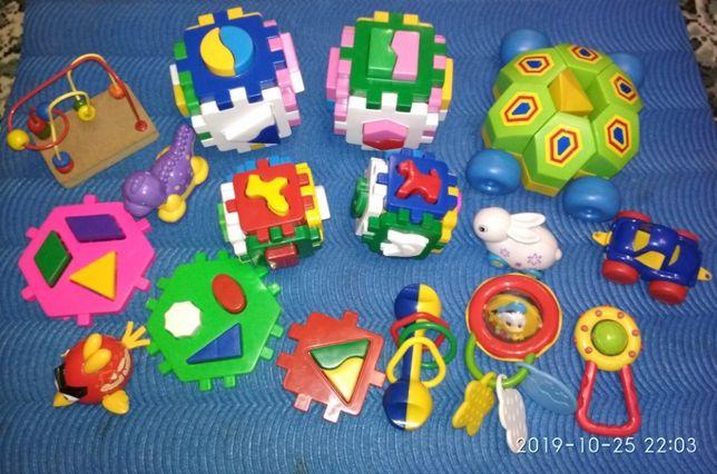 игрушки развивающие Пакетом