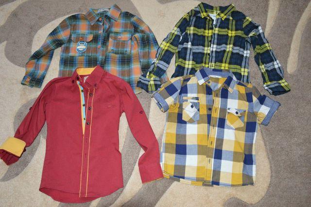 Рубашки, регланы, штаны на мальчика 4-5-6 лет
