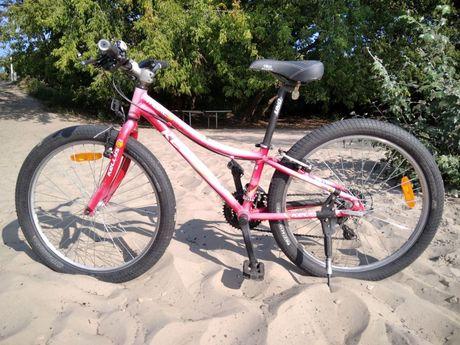 Подростковый велосипед Kellys для девочек ростом от 80 до 140 см.