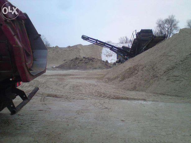 piach do wylewek ,murowania i do zasypywania fundamentów