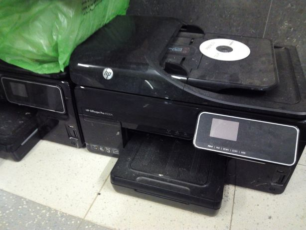 Impressoras HP OfficeJet PRO 8500 - Avariadas para Pecas