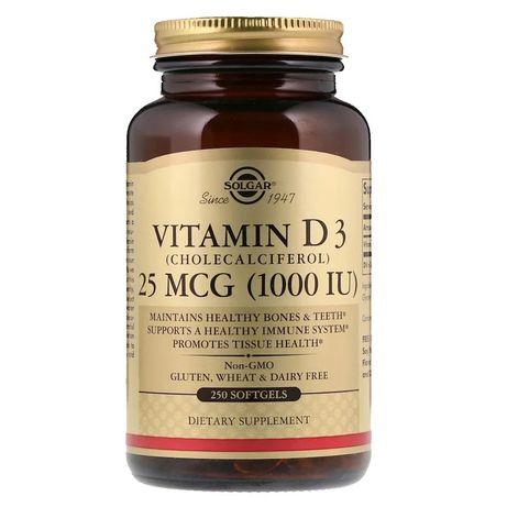 Солгар витамин д3 1000 iu